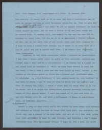 Letter from Katherine Anne Porter to Ann Holloway Heintze, January 31, 1966