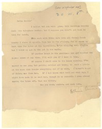 Letter from Katherine Anne Porter to Delafield Day Spier, September 28, 1928