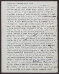 Letter from Katherine Anne Porter to Paul Porter Jr., August 22, 1963
