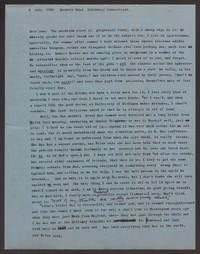 Letter from Katherine Anne Porter to Ann Holloway Heintze, July 09, 1958