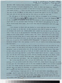 Letter from Katherine Anne Porter to Gay Porter Holloway, October 08, 1956