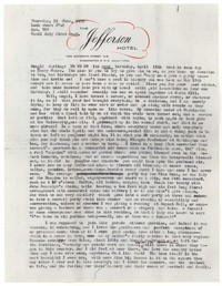 Letter from Katherine Anne Porter to Donald Elder, June 18, 1959