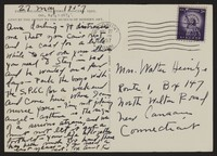Letter from Katherine Anne Porter to Ann Holloway Heintze, May 27, 1957