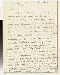 Letter from Katherine Anne Porter to Gay Porter Holloway, July 22, 1943