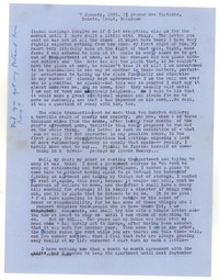 Letter from Katherine Anne Porter to Isabel Bayley, January 07, 1955