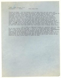 Letter from Katherine Anne Porter to Glenway Wescott, July 24, 1965