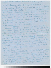 Letter from Katherine Anne Porter to Gay Porter Holloway, February 04, 1955