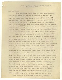 Letter from Katherine Anne Porter to Caroline Gordon, December 09, 1934