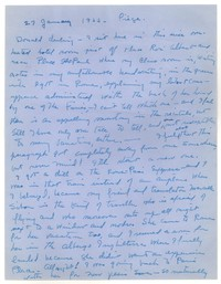Letter from Katherine Anne Porter to Donald Elder, January 27, 1955