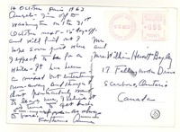Letter from Katherine Anne Porter to Isabel Bayley and W. Hewitt Bayley, October 16, 1963