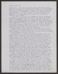 Letter from Katherine Anne Porter to Paul Porter Jr., May 23, 1954