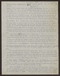 Letter from Katherine Anne Porter to Eugene Pressly, January 27, 1932