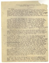 Letter from Katherine Anne Porter to Ford Maddox Ford, December 03, 1935
