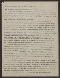 Letter from Katherine Anne Porter to Eugene Pressly, April 24, 1934