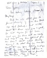 Letter from Katherine Anne Porter to Genevieve Taggard, February 21, 1926