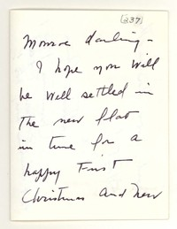 Letter from Katherine Anne Porter to Monroe Wheeler, December 25, 1957