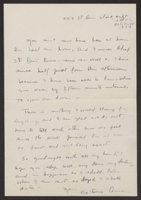 Letter from Katherine Anne Porter to Albert Erskine, October 25, 1937
