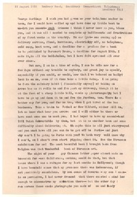 Letter from Katherine Anne Porter to George Platt Lynes, August 16, 1955