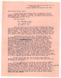 Letter from Katherine Anne Porter to William Goyen, June 28, 1951