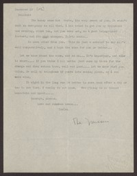 Letter from Katherine Anne Porter to Eugene Pressly, December 19, 1936