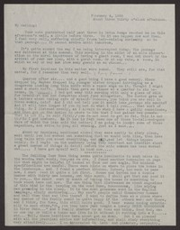 Letter from Katherine Anne Porter to Albert Erskine, February 04, 1938