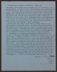 Letter from Katherine Anne Porter to Paul Porter Jr., March 07, 1957