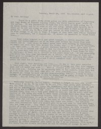 Letter from Katherine Anne Porter to Albert Erskine, March 22, 1938