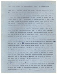 Letter from Katherine Anne Porter to William Humphrey, January 31, 1966