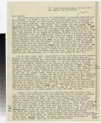 Letter from Katherine Anne Porter to Gay Porter Holloway, July 20, 1945