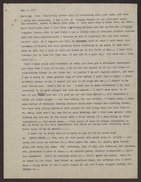 Letter from Katherine Anne Porter to Eugene Pressly, May 04, 1934