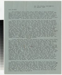 Letter from Katherine Anne Porter to Gay Porter Holloway, August 24, 1947