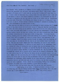 Letter from Katherine Anne Porter to James Stern, February 12, 1963