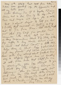 Letter from Katherine Anne Porter to Gay Porter Holloway, May 05, 1963