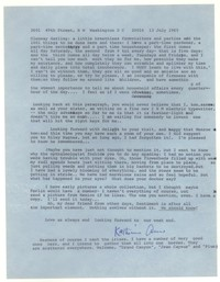 Letter from Katherine Anne Porter to Glenway Wescott, July 13, 1965