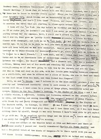 Letter from Katherine Anne Porter to Donald Elder, May 29, 1957