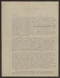 Letter from Katherine Anne Porter to Harrison B Porter, June 26, 1931