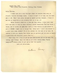 Letter from Katherine Anne Porter to Delafield Day Spier, August 05, 1929