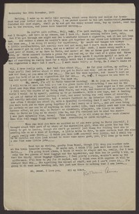 Letter from Katherine Anne Porter to Eugene Pressly, November 30, 1932