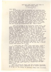 Letter from Katherine Anne Porter to William Humphrey, January 05, 1951