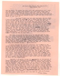 Letter from Katherine Anne Porter to William Goyen, August 10, 1951