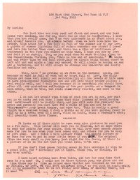 Letter from Katherine Anne Porter to William Goyen, May 03, 1951
