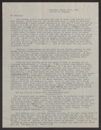Letter from Katherine Anne Porter to Albert Erskine, March 31, 1938