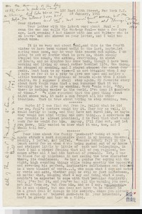Letter from Katherine Anne Porter to Gay Porter Holloway, January 28, 1951