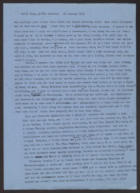 Letter from Katherine Anne Porter to Ann Holloway Heintze, January 25, 1963