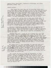 Letter from Katherine Anne Porter to Gay Porter Holloway, July 19, 1954