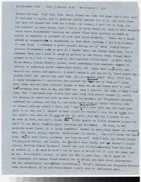 Letter from Katherine Anne Porter to Gay Porter Holloway, November 13, 1961