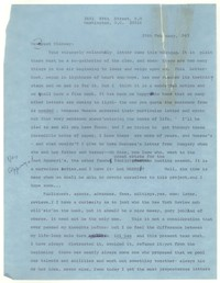 Letter from Katherine Anne Porter to Glenway Wescott, February 20, 1967