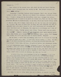 Letter from Katherine Anne Porter to Eugene Pressly, January 05, 1932