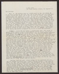 Letter from Katherine Anne Porter to Ann Holloway Heintze, July 02, 1945