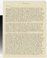 Letter from Katherine Anne Porter to Gay Porter Holloway, March 10, 1945